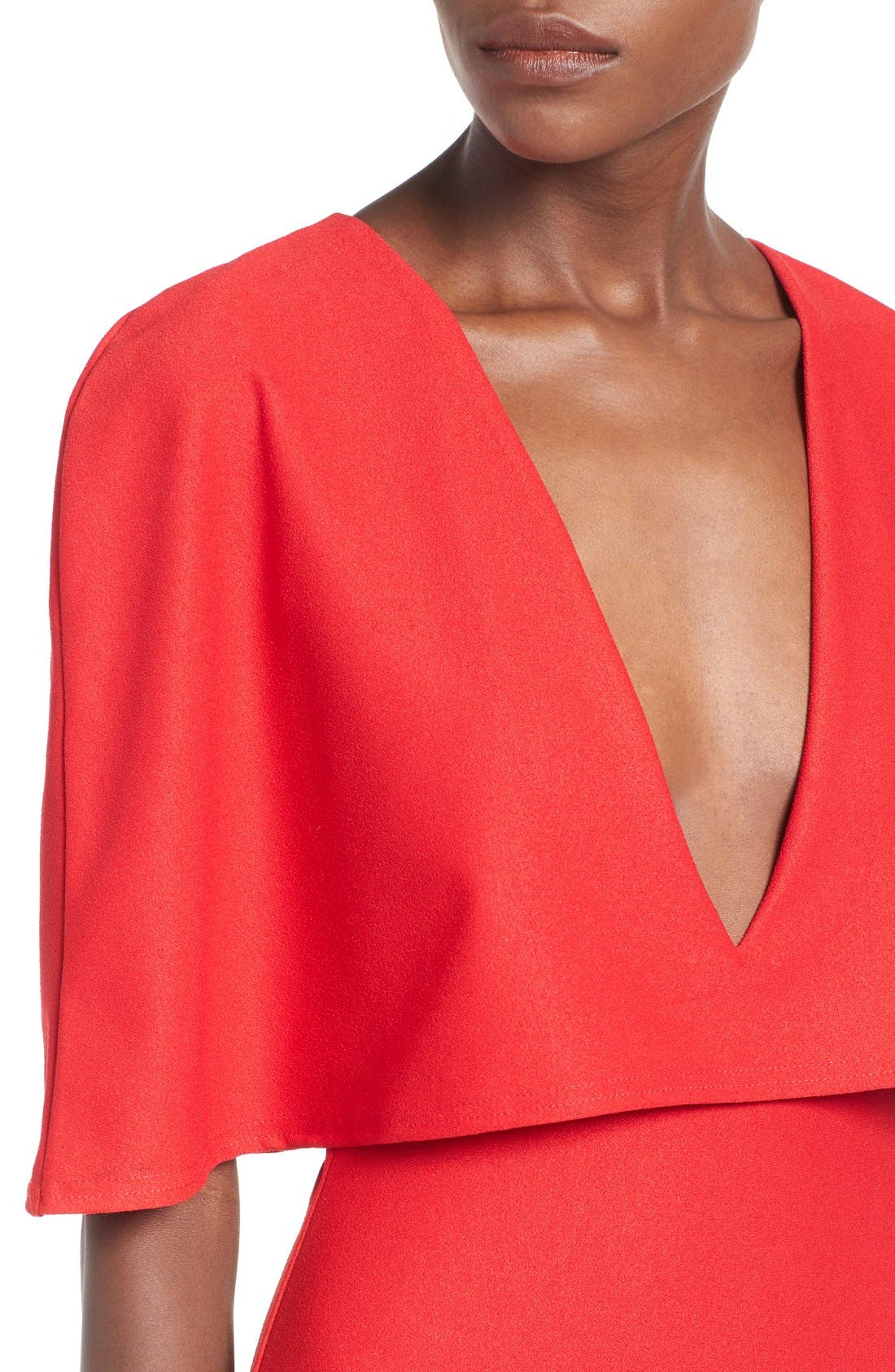 Alternate Image 4  - Missguided Cape Body-Con Dress