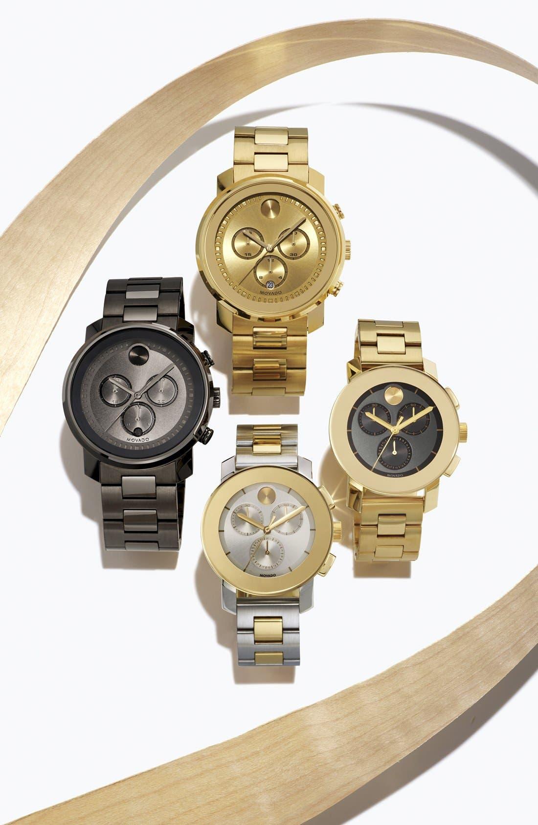'Bold' Chronograph Bracelet Watch, 44mm,                             Alternate thumbnail 4, color,