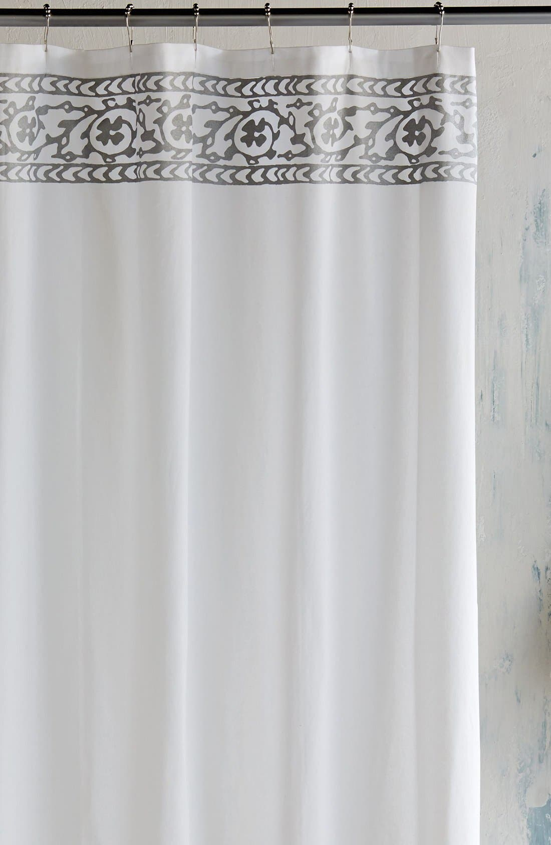 black and gray shower curtain. john robshaw \u0027jit\u0027 shower curtain black and gray