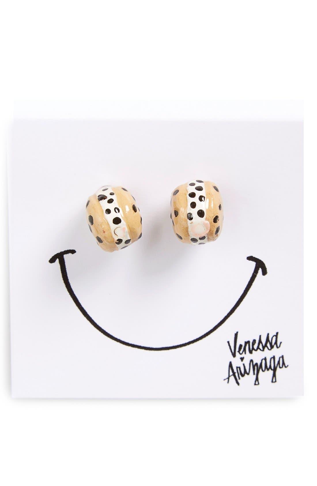 Alternate Image 3  - Venessa Arizaga 'Cookie Monsta' Stud Earrings