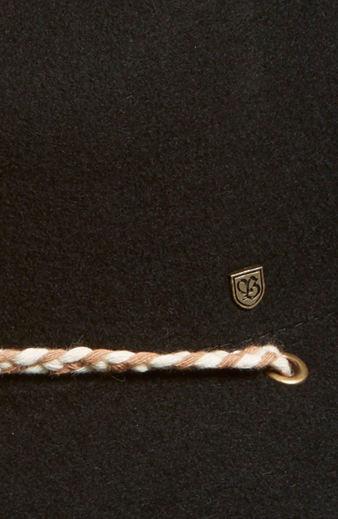 Alternate Image 2  - Brixton 'Lawerence' Wool Felt Fedora