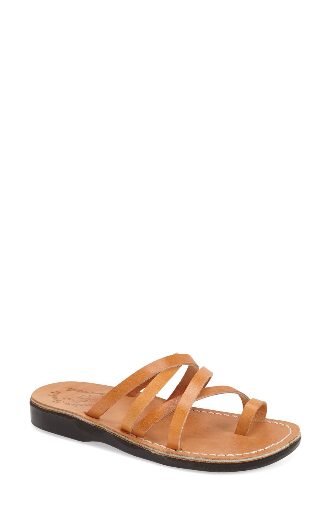Alternate Image 1 Selected - Jerusalem Sandals 'Ariel' Strappy Slide Sandal (Women)