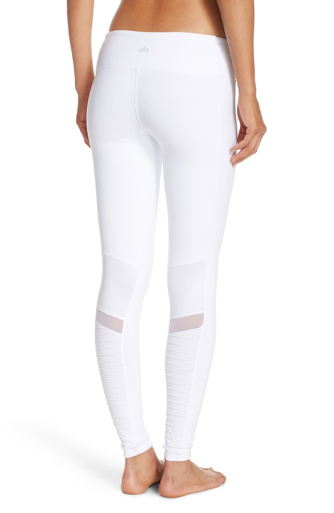 Alternate Image 2  - Alo Moto Leggings