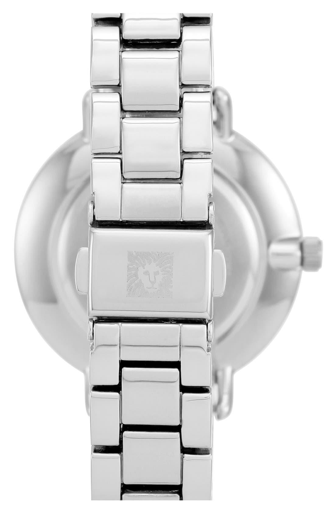 Round Bracelet Watch, 36mm,                             Alternate thumbnail 2, color,                             Silver