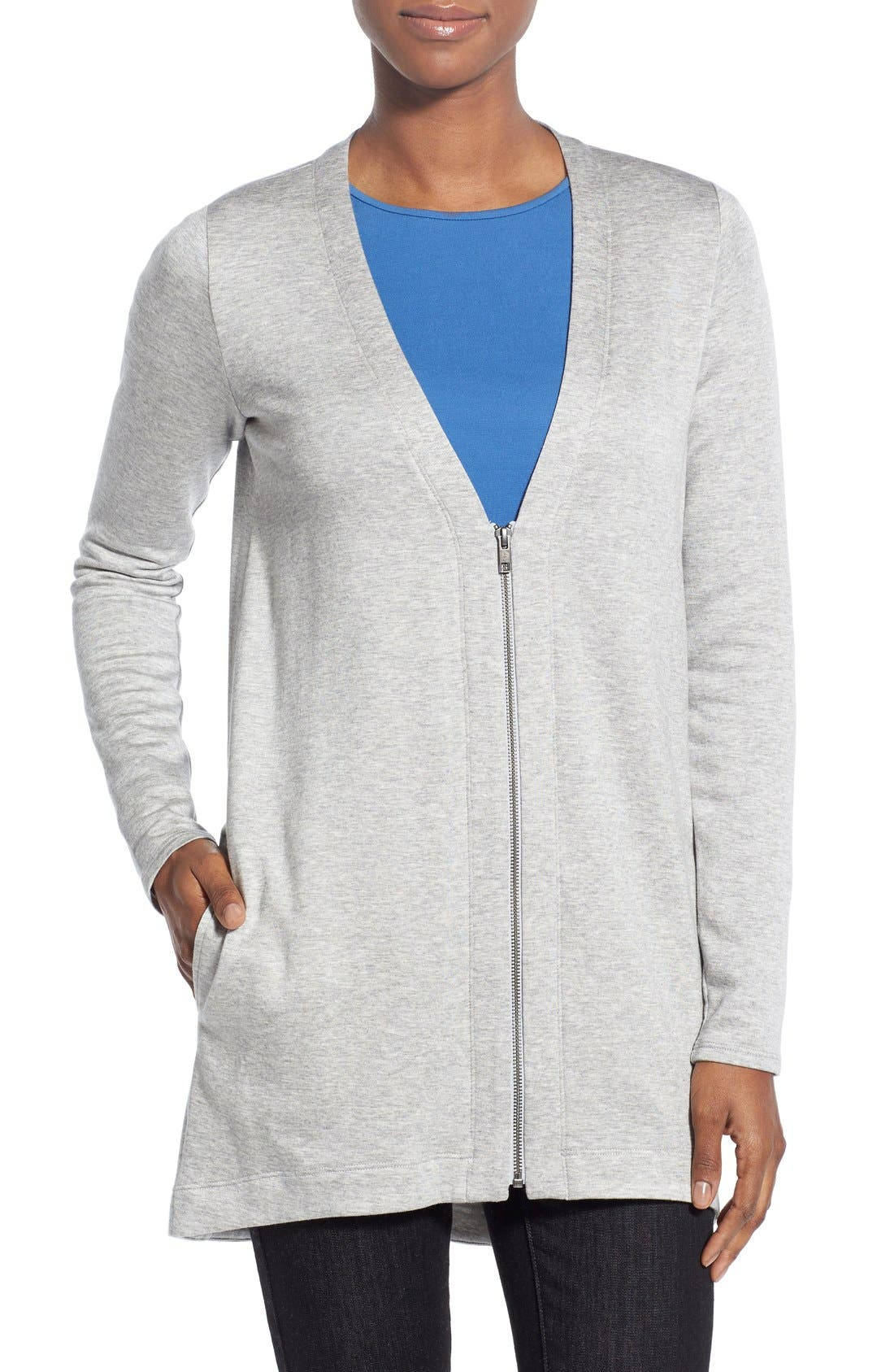 Eileen Fisher V-Neck Cardigan (Regular & Petite)