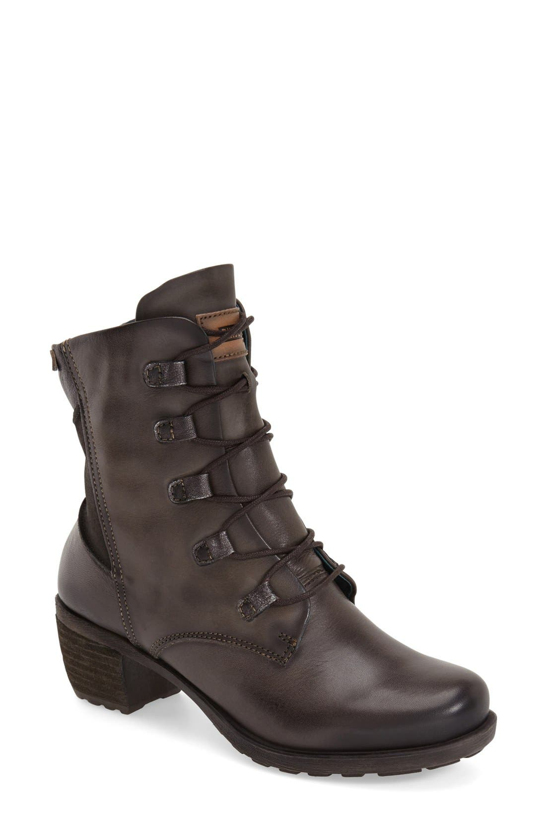 Alternate Image 1 Selected - PIKOLINOS 'Le Mans' Lace-Up Boot (Women)