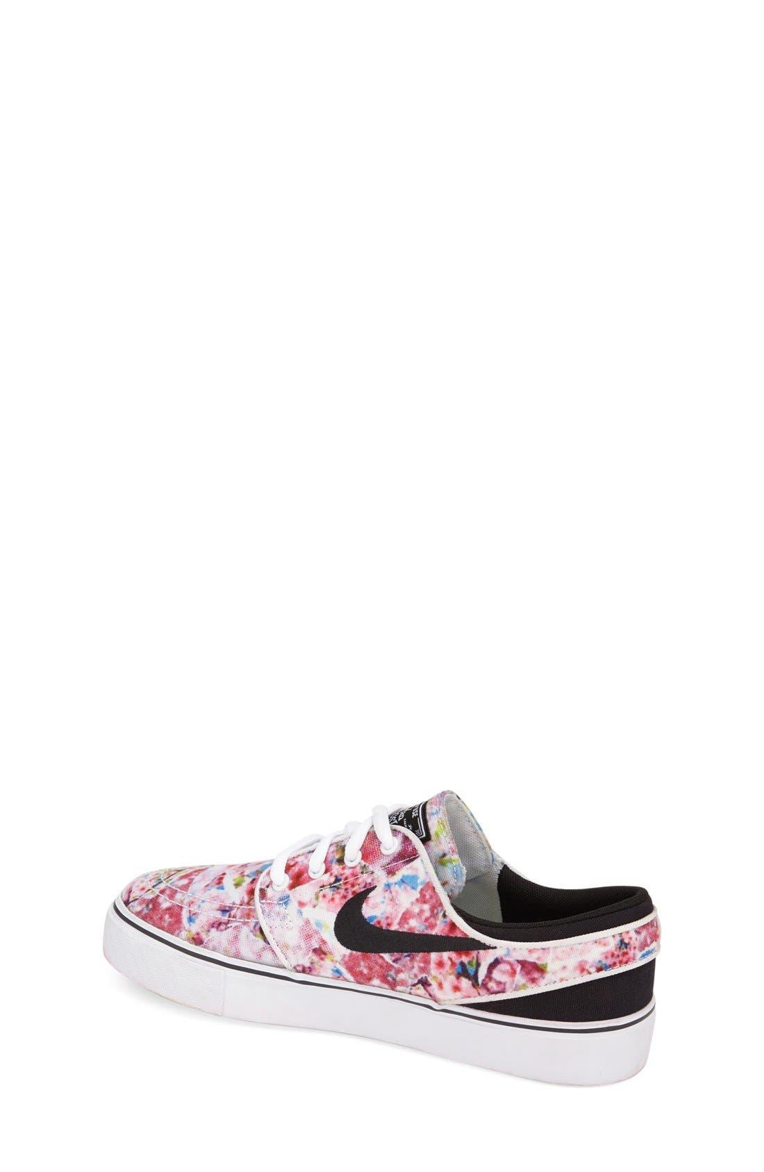 Alternate Image 4  - Nike 'Stefan Janoski' Premium Canvas Sneaker (Big Kid)