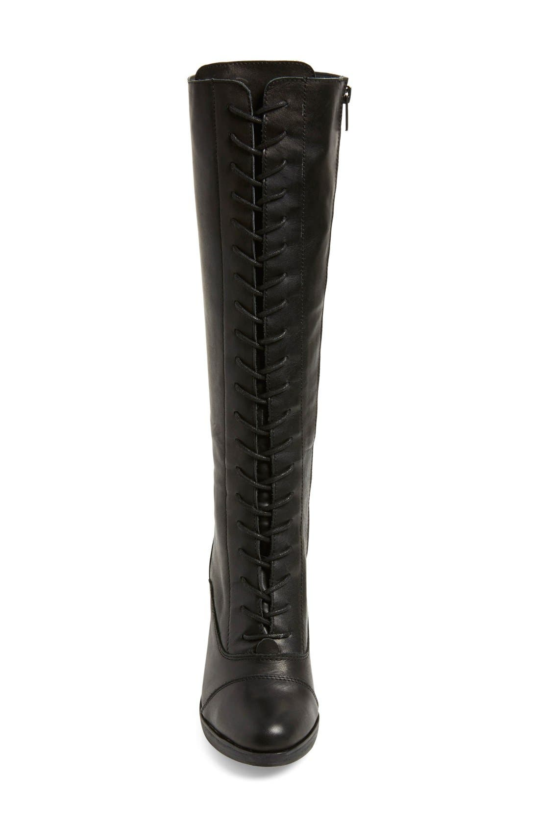 Alternate Image 3  - Steve Madden 'Nidea' Lace-Up Knee High Boot (Women)