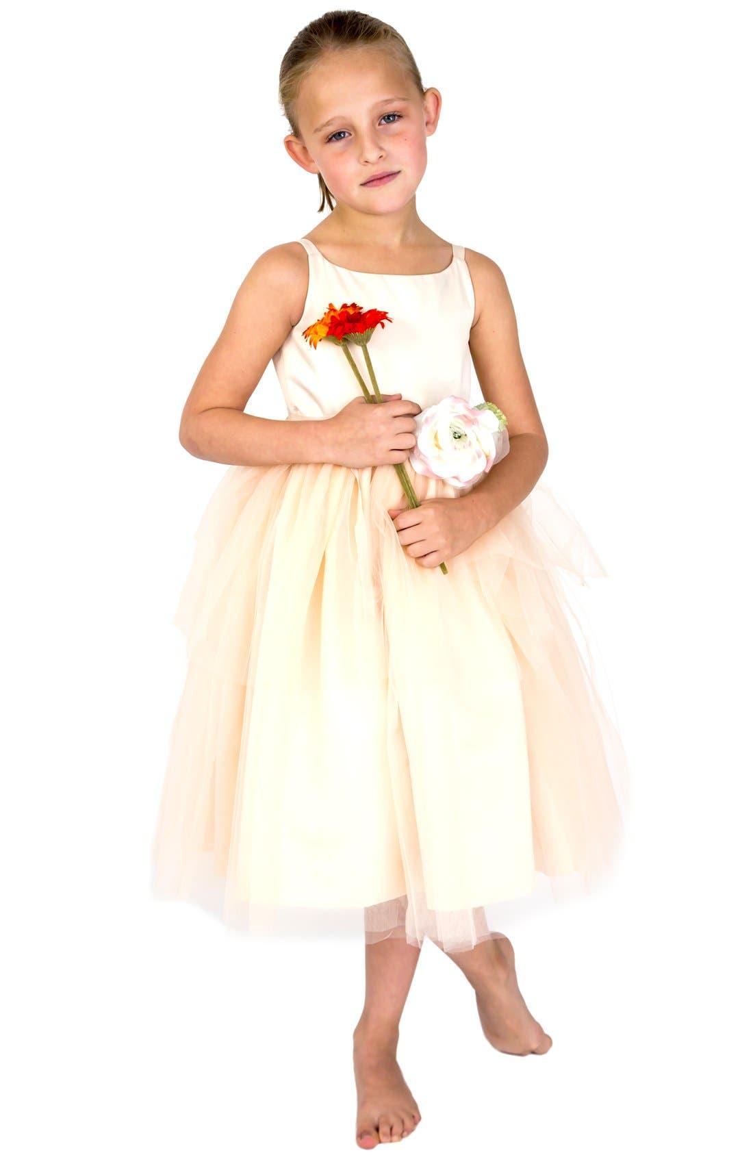 Us Angels Tulle Ballerina Dress (Baby Girls, Toddler Girls, Little Girls & Big Girls)