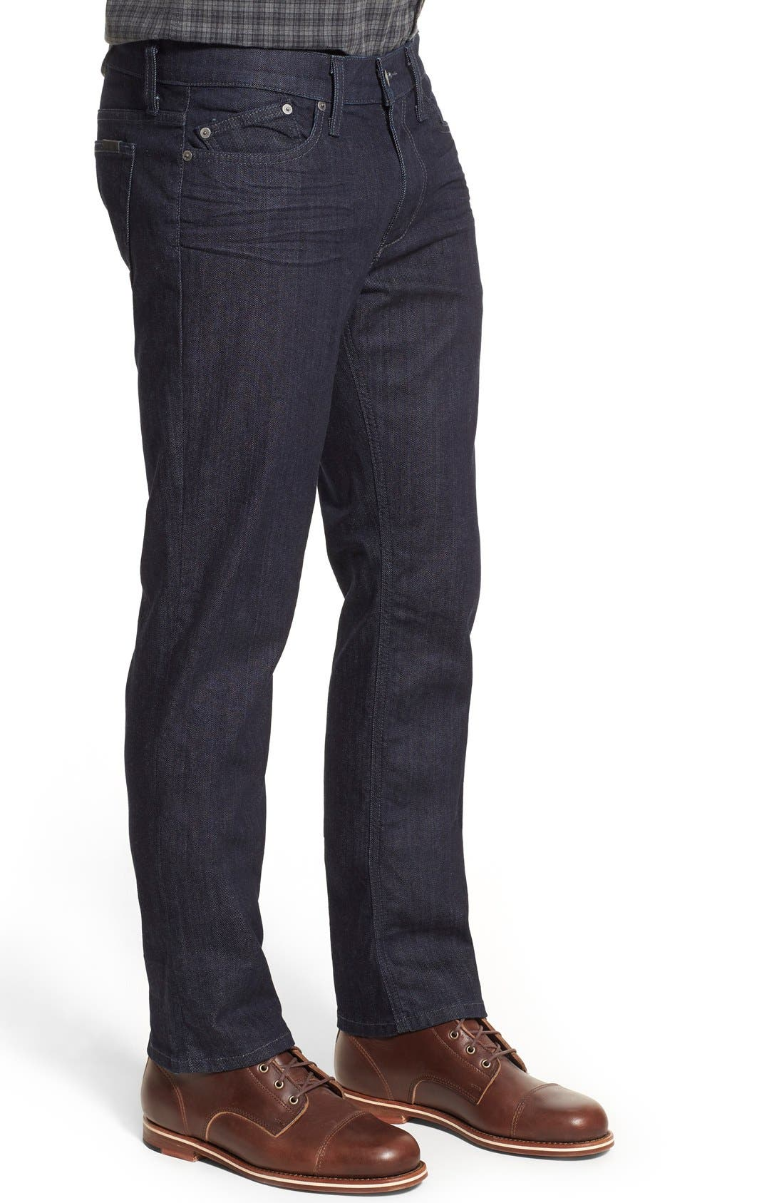 Alternate Image 3  - Joe's Brixton Slim Straight Fit Jeans (King) (Regular & Tall)
