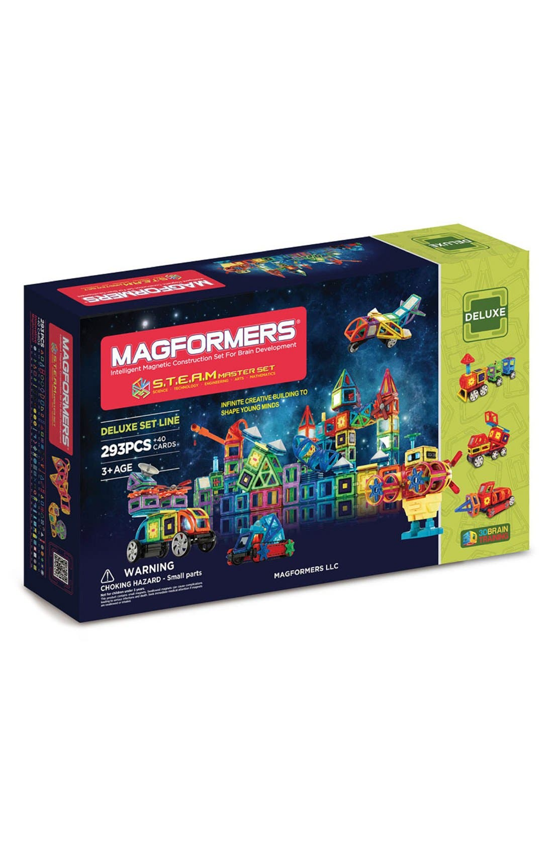 Alternate Image 1 Selected - Magformers 'S.T.E.A.M. Deluxe' Magnetic Construction Set
