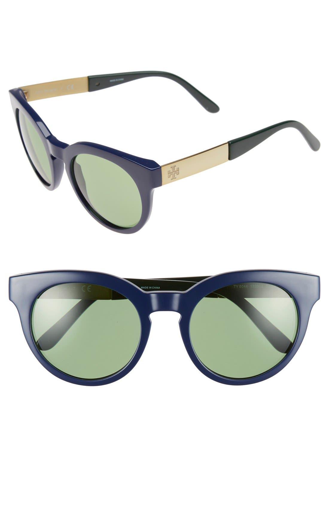 Alternate Image 1 Selected - Tory Burch 52mm Retro Sunglasses