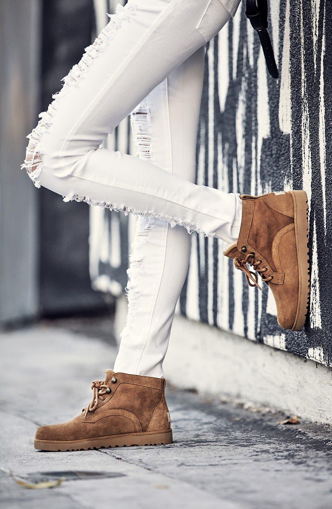 Alternate Image 6  - UGG® Bethany - Classic Slim™ Water Resistant Chukka Boot (Women)