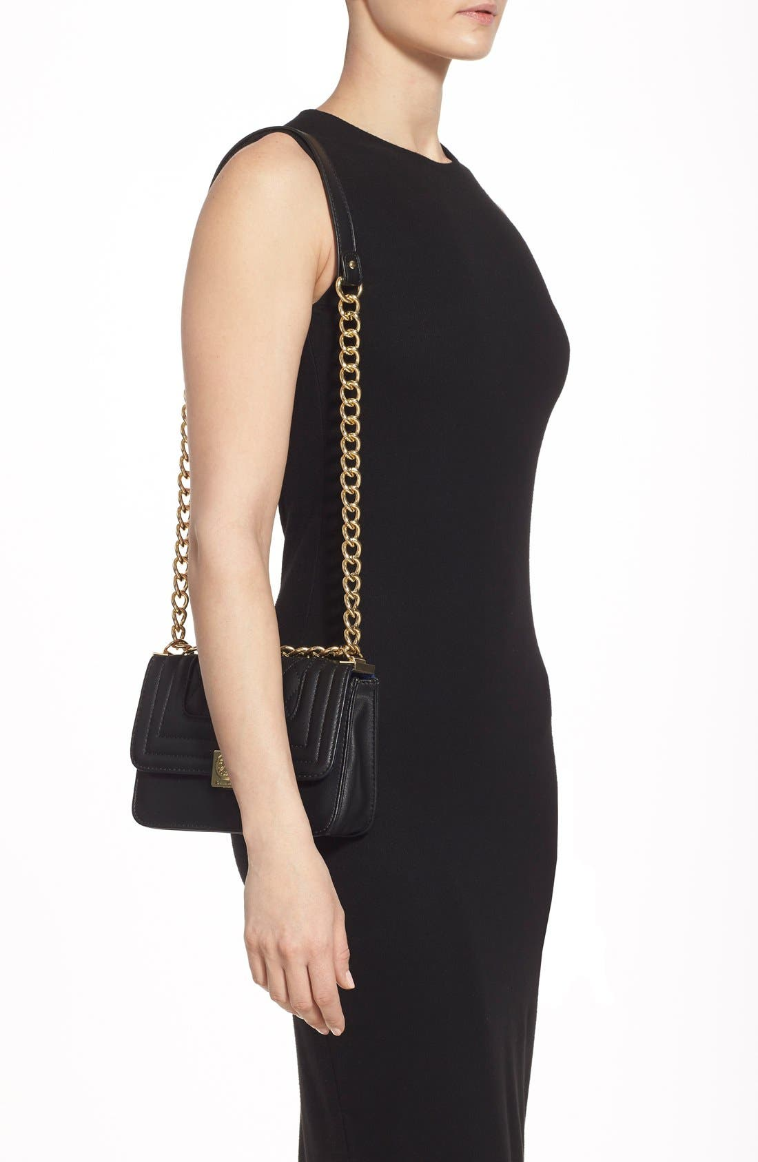 Alternate Image 2  - CXL by Christian Lacroix 'Galaxie' Quilted Convertible Crossbody Bag
