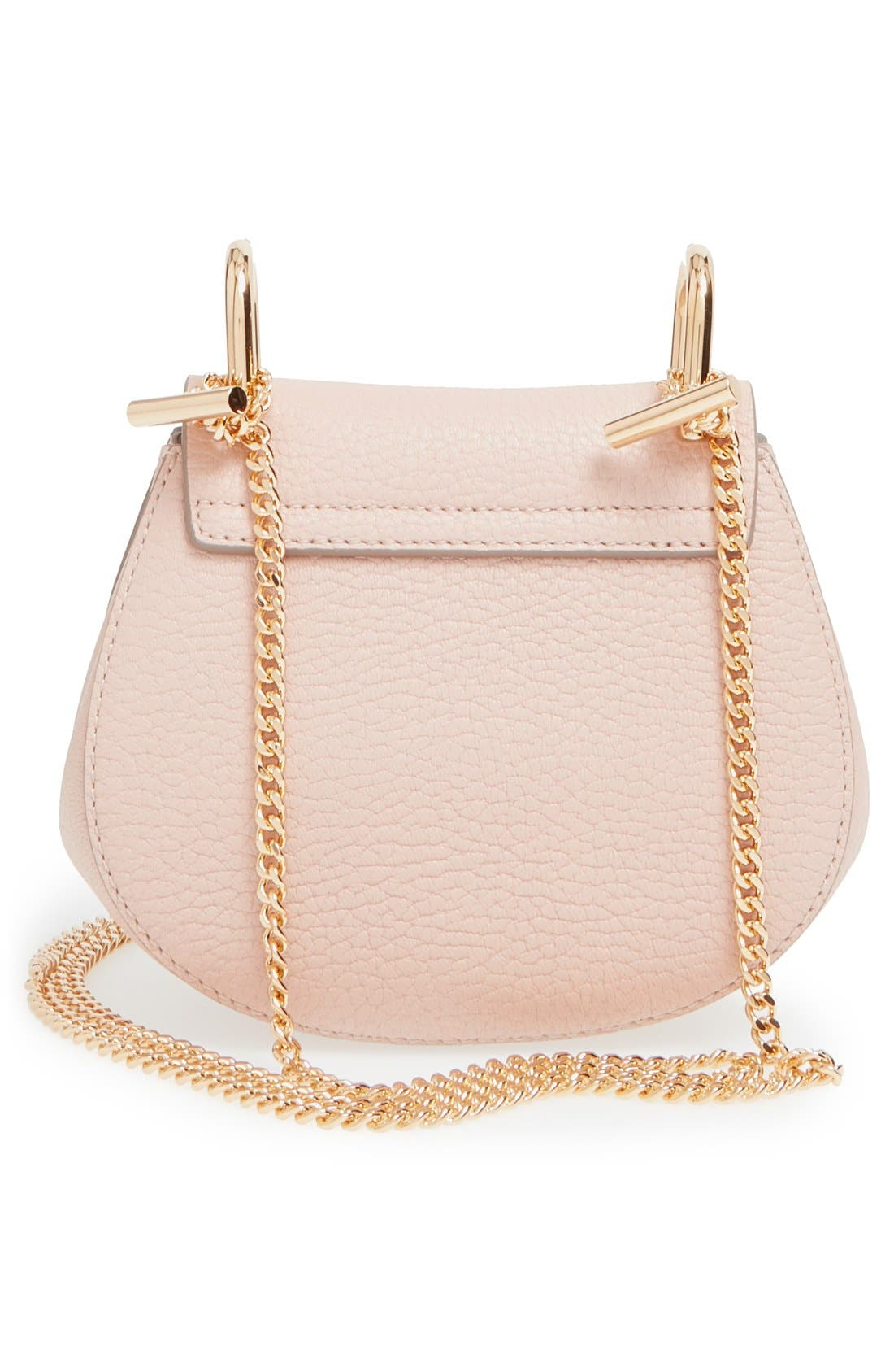 Alternate Image 3  - Chloé 'Nano Drew' Lambskin Leather Shoulder Bag
