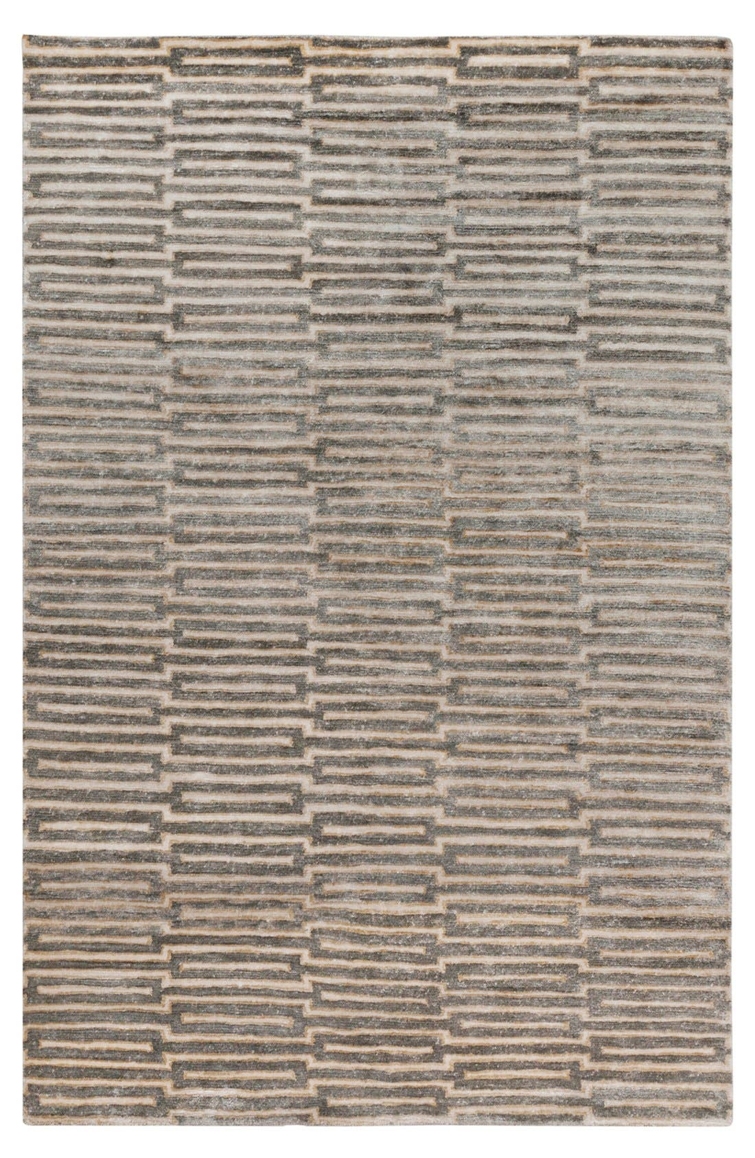 'Platinum' Hand Tufted Rug,                             Main thumbnail 1, color,                             Olive/ Beige