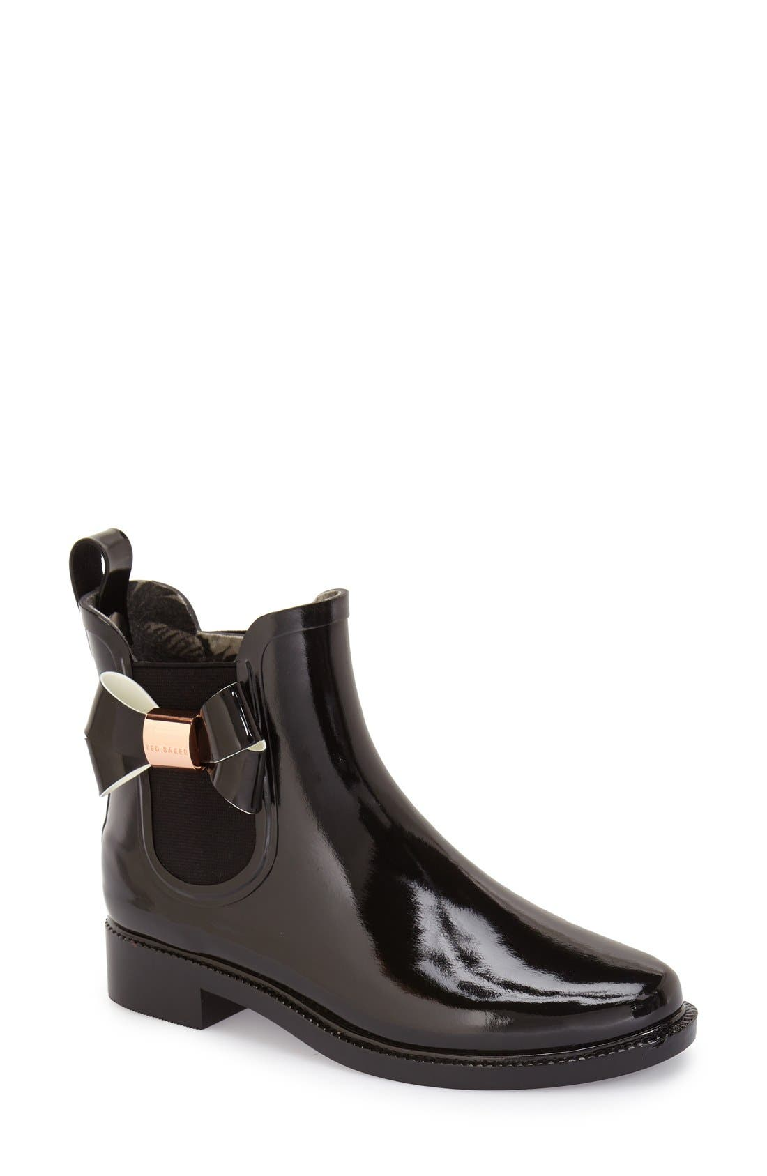 Main Image - Ted Baker London 'Erlfyn' Rain Bootie (Women)
