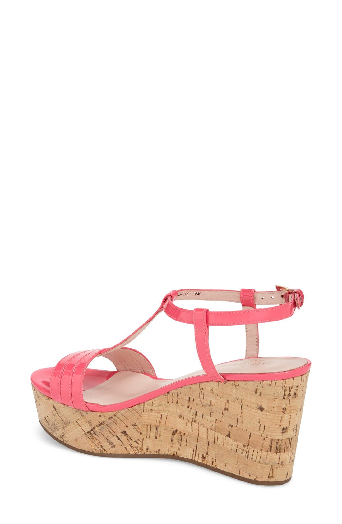 Alternate Image 2  - kate spade new york 'tallin' wedge sandal (Women)
