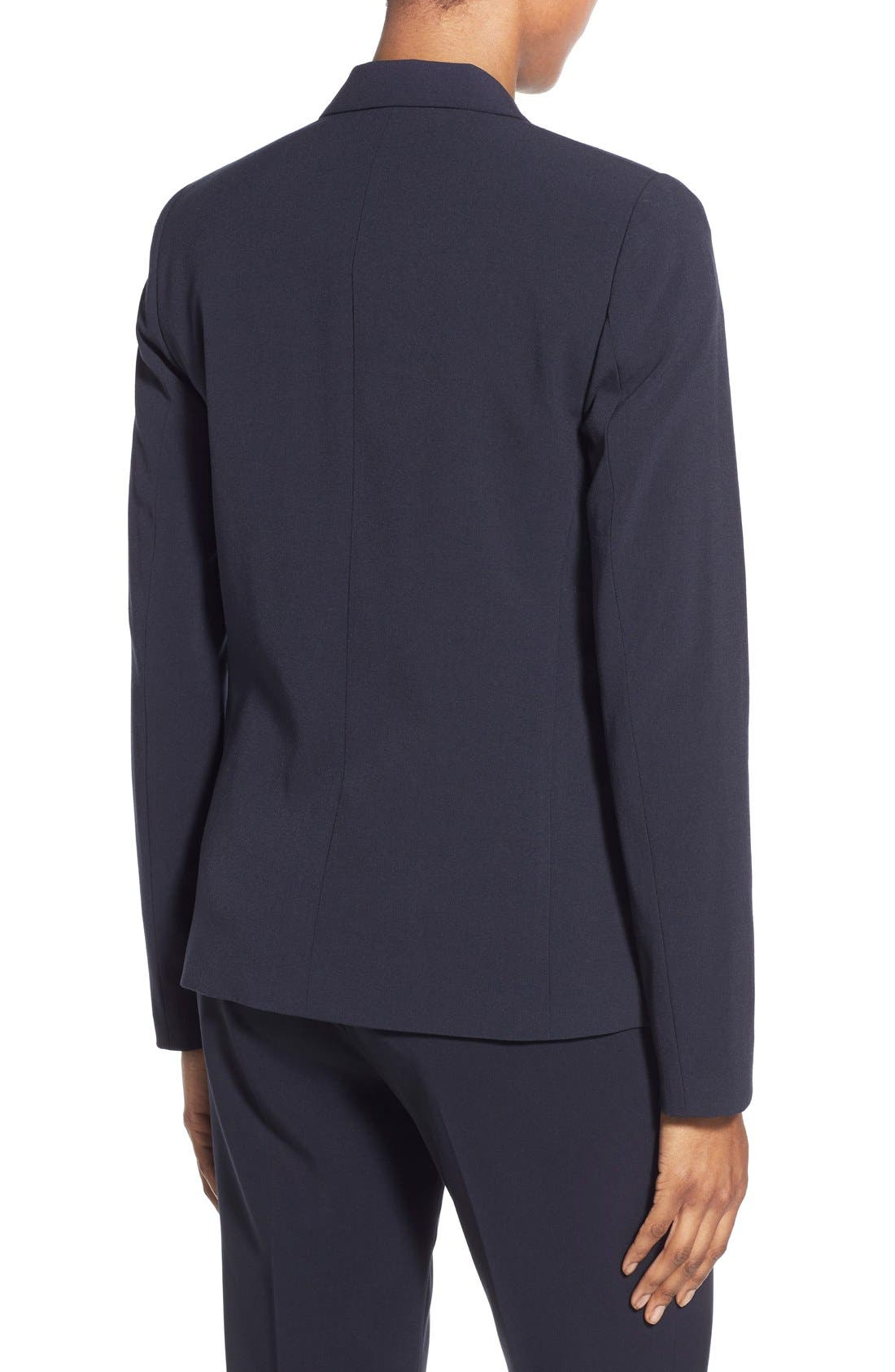 Alternate Image 3  - T Tahari Jolie Stretch Woven Suit Jacket