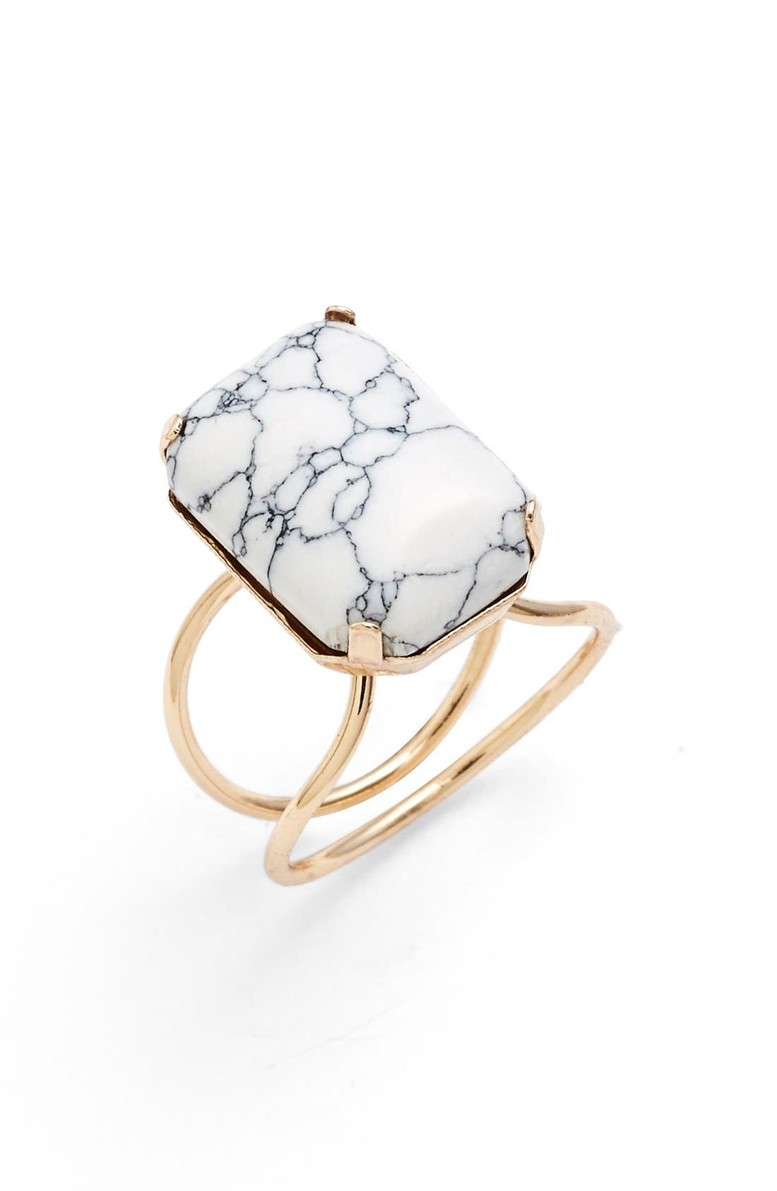 Alternate Image 1 Selected - BP. Marbled Stone Ring