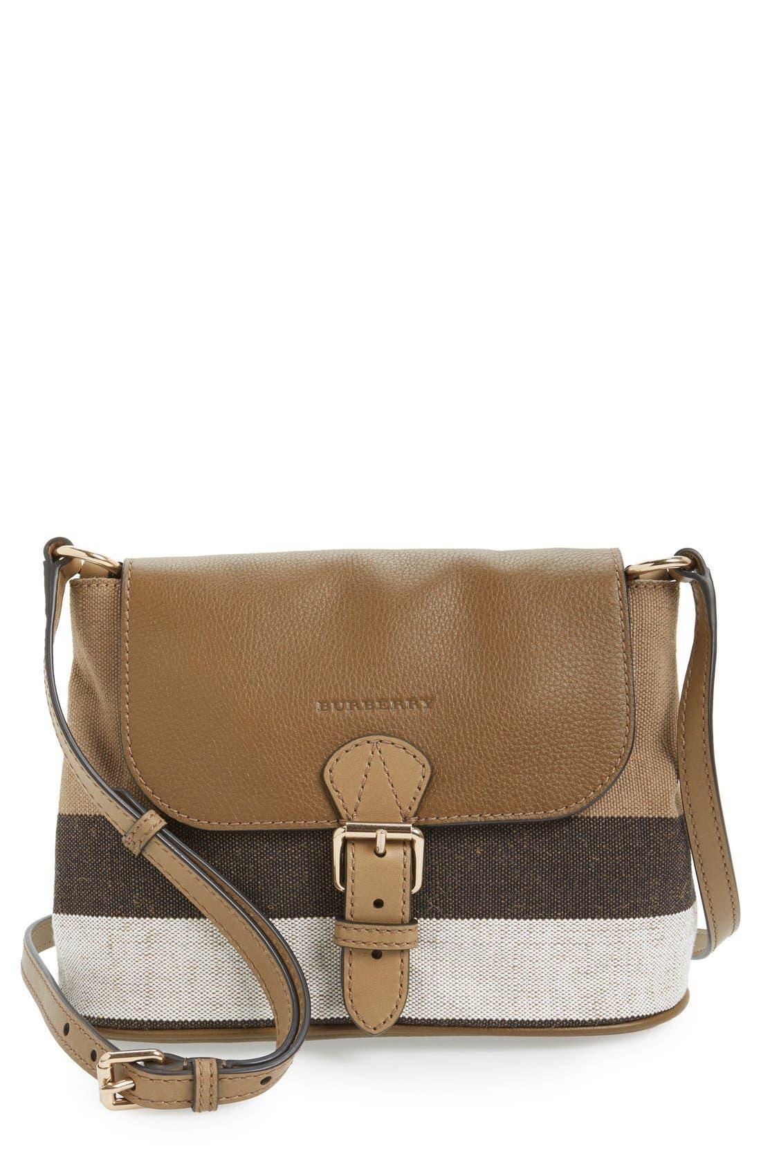 Main Image - Burberry 'Small Gowan' Crossbody Bag