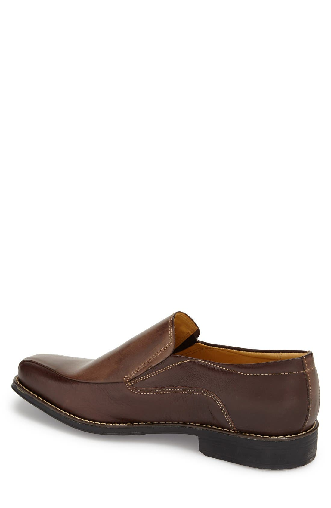'Jacobs Venetian' Slip-On,                             Alternate thumbnail 2, color,                             Brown/ Brown