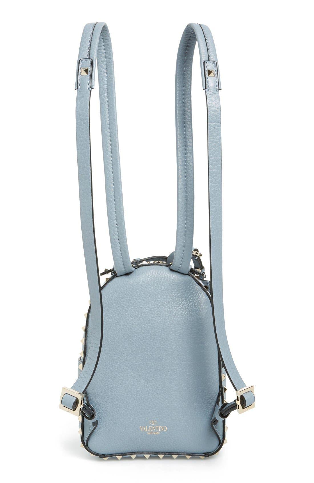 Alternate Image 3  - Valentino 'Small Rockstud' Leather Backpack