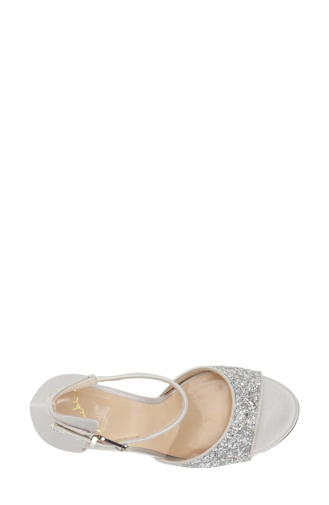 Alternate Image 3  - Kay Unger 'Phoebe Collection - Helena Glitter' Sandal (Women)