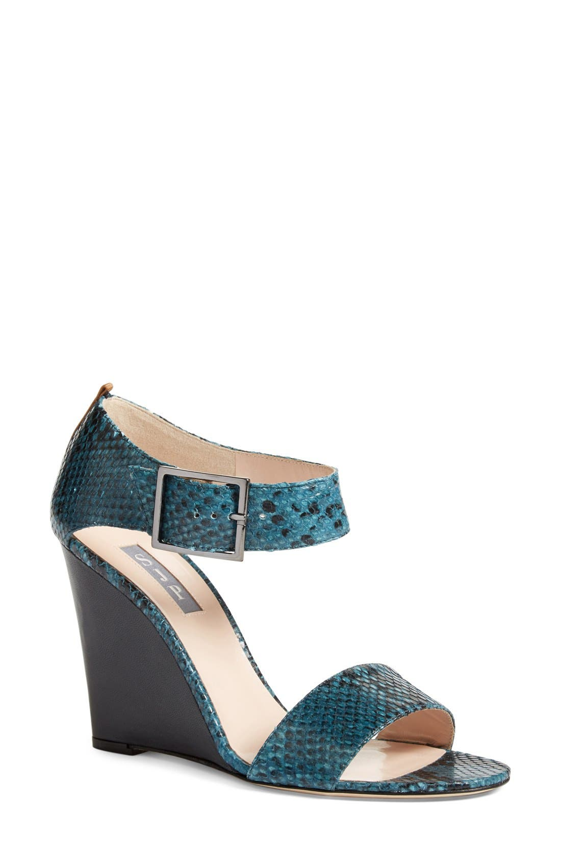 Alternate Image 1 Selected - SJP by Sarah Jessica Parker 'Tate' Wedge Sandal (Women)