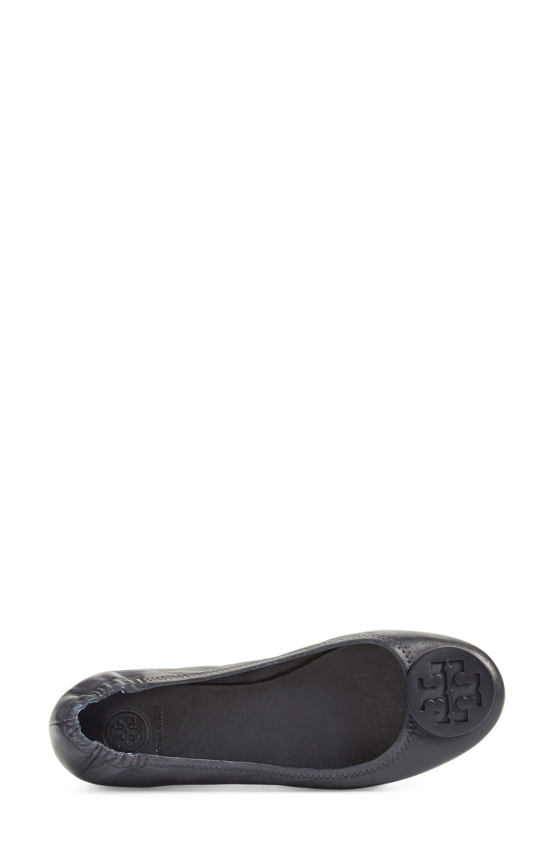 Alternate Image 3  - Tory Burch 'Minnie' Travel Ballet Flat (Women)