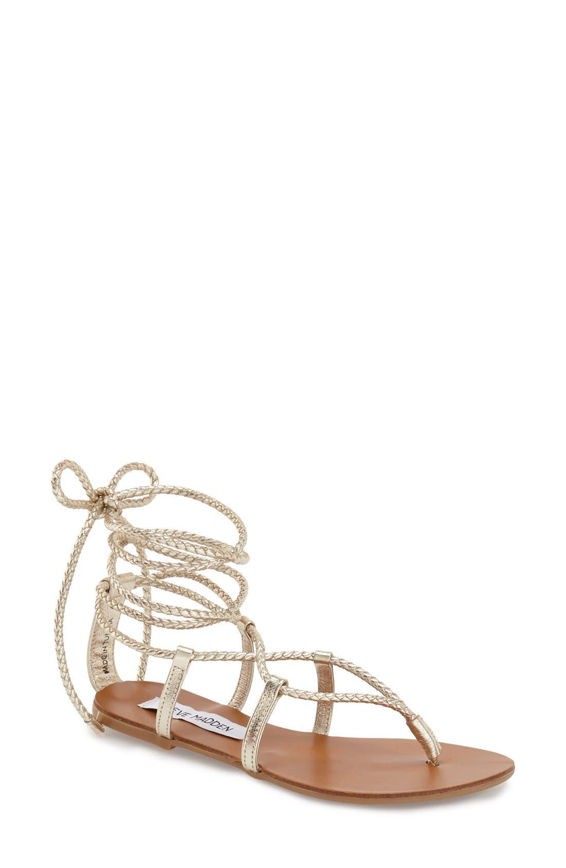 Alternate Image 1 Selected - Steve Madden 'Werkit' Gladiator Sandal (Women)