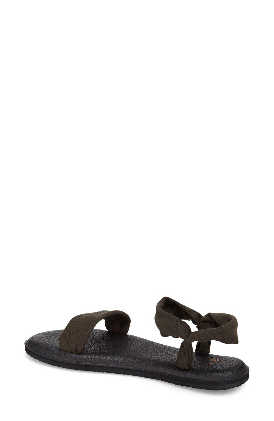 Alternate Image 2  - Sanuk 'Yoga Duet' Double Band Sandal (Women)