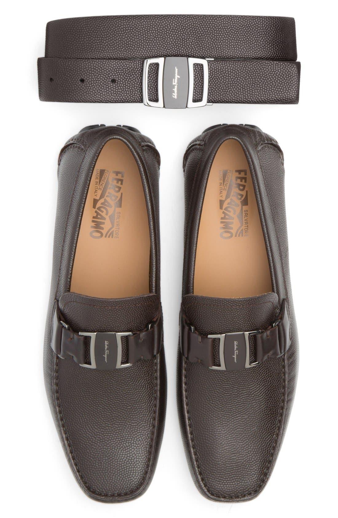 Alternate Image 5  - Salvatore Ferragamo Reversible Leather Belt