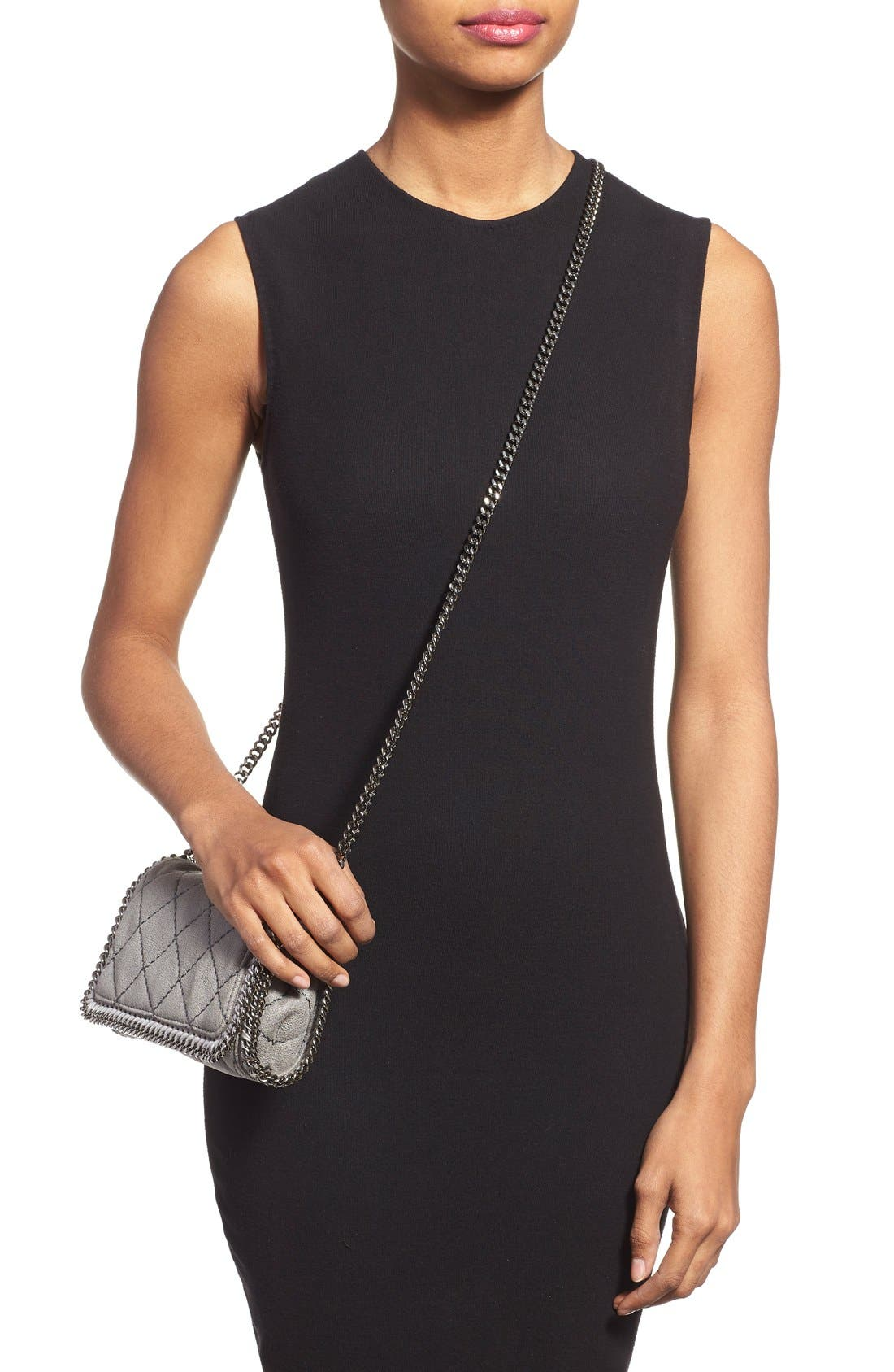 Alternate Image 6  - Stella McCartney 'Falabella' Quilted Faux Leather Crossbody Bag