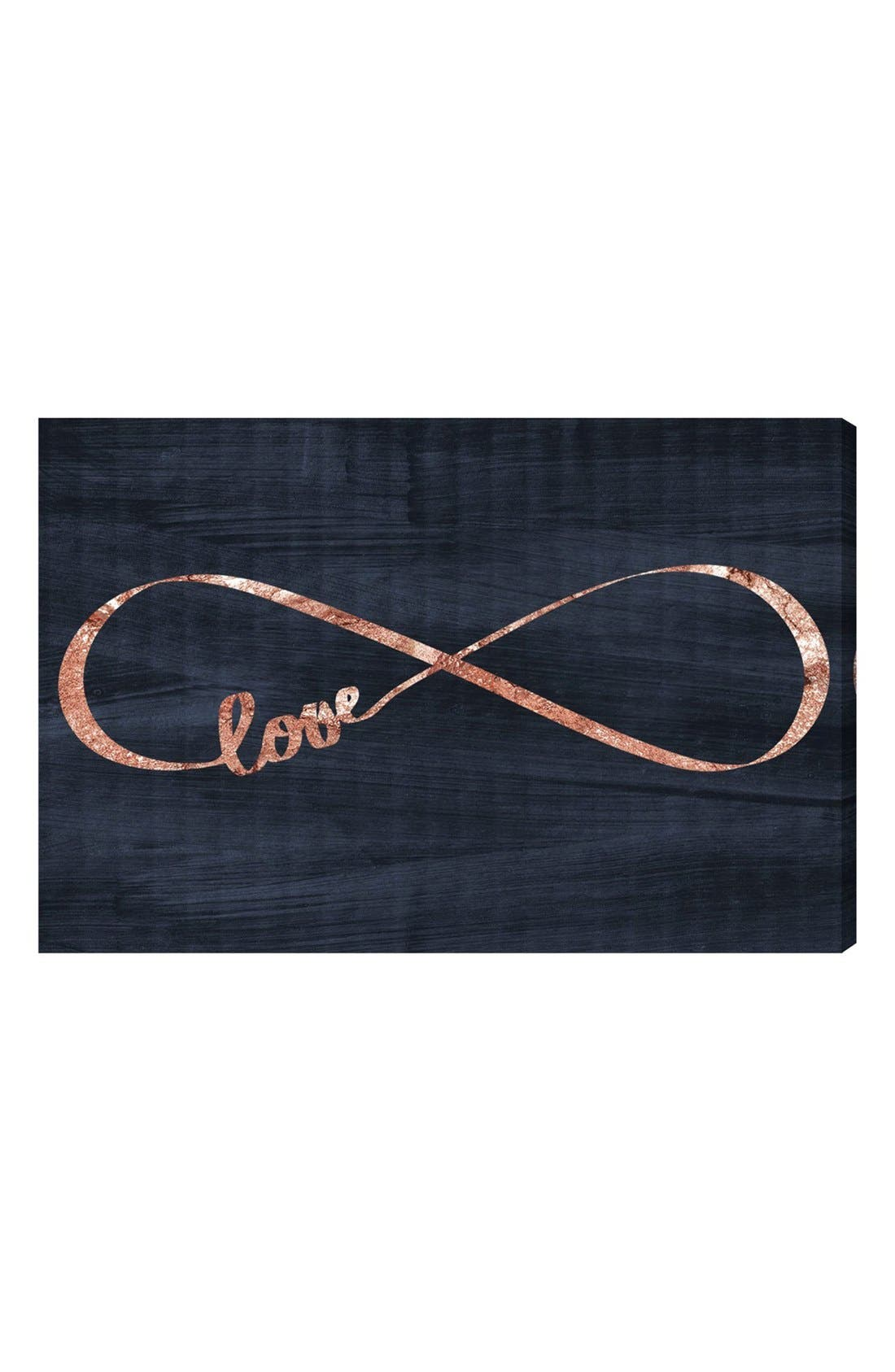 Alternate Image 1 Selected - Oliver Gal 'Infinite Love' Canvas Wall Art
