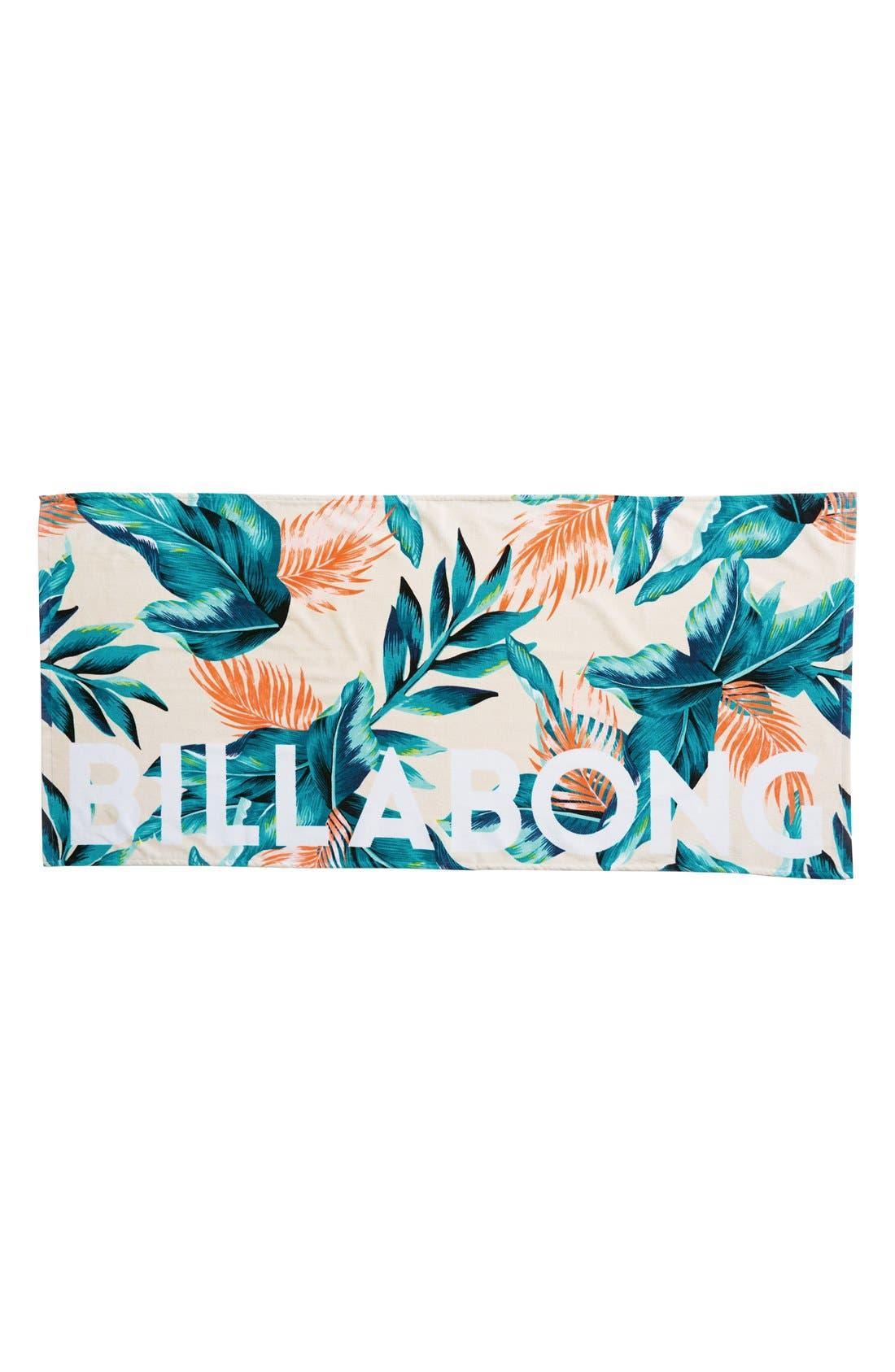 Alternate Image 1 Selected - Billabong 'Sunset Sounds' Cotton Terry Beach Towel