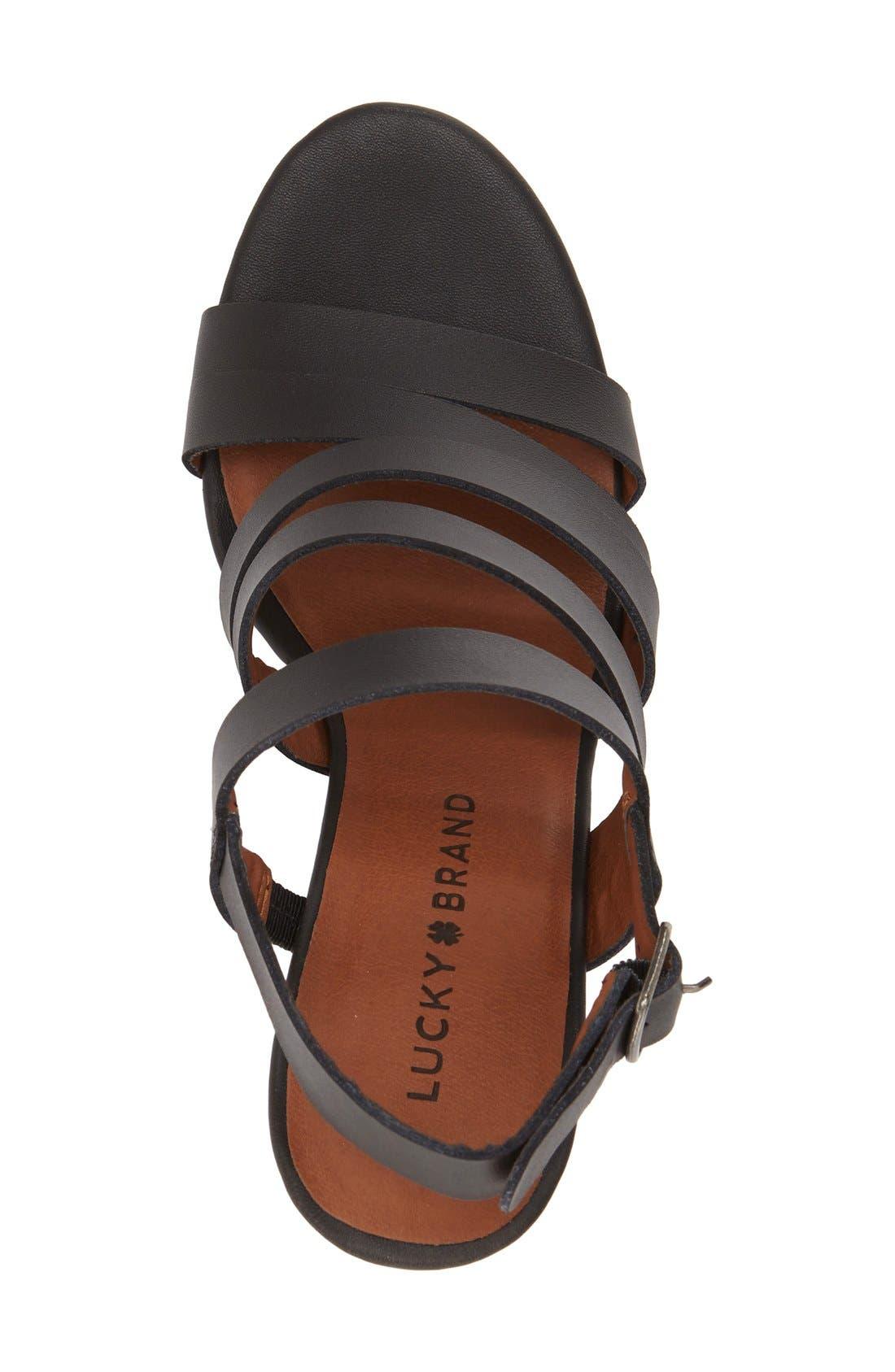 Alternate Image 3  - Lucky Brand 'Larinaa' Wedge Sandal (Women)