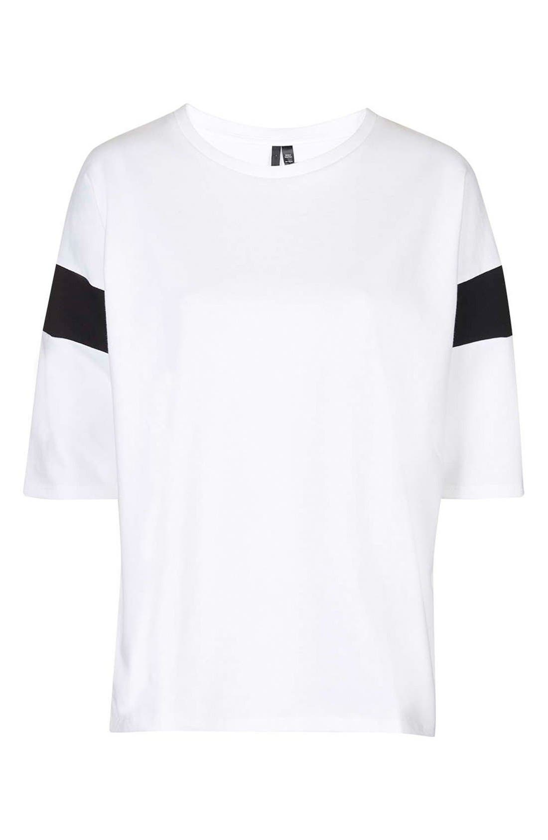 Alternate Image 4  - Topshop Boutique Slouchy Tee