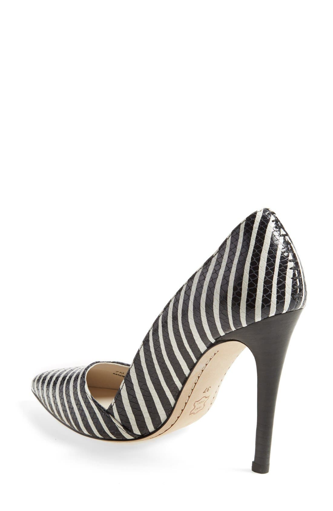 Alternate Image 2  - Alice + Olivia 'Dina' Pointy Toe Pump (Women)