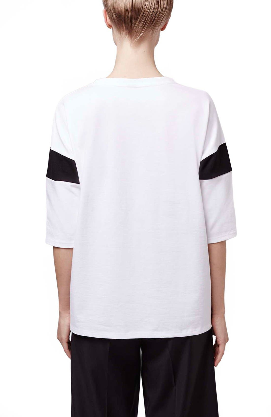 Alternate Image 3  - Topshop Boutique Slouchy Tee