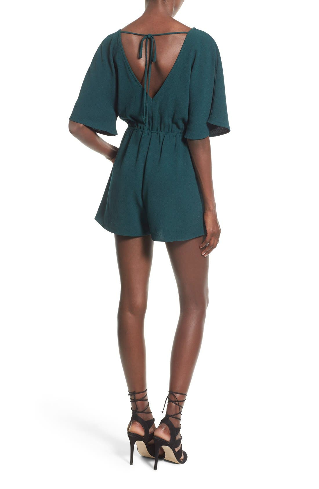 Alternate Image 2  - Leith Tie Back Romper
