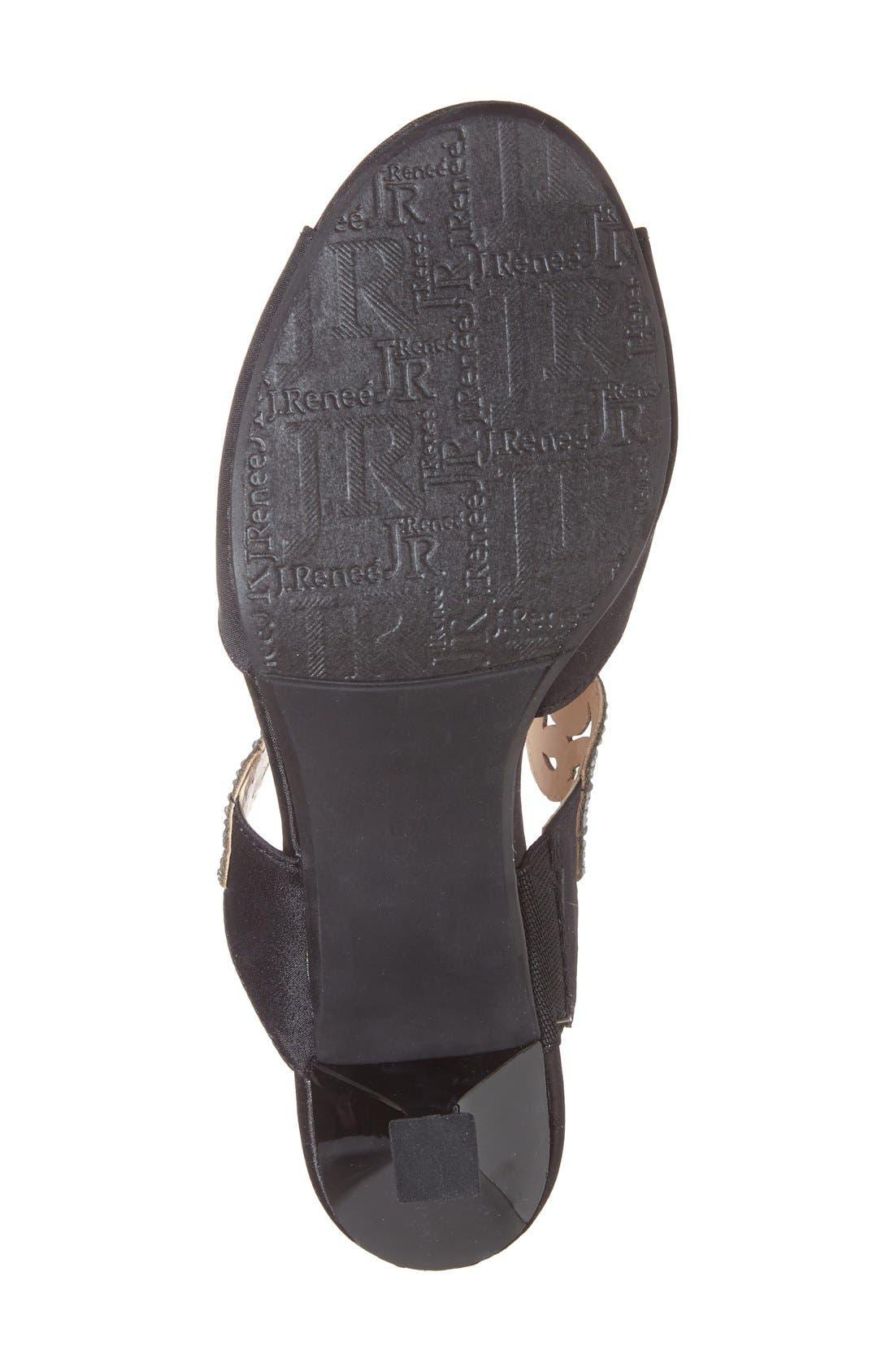 Alternate Image 4  - J. Reneé 'Francie' Evening Sandal (Women)