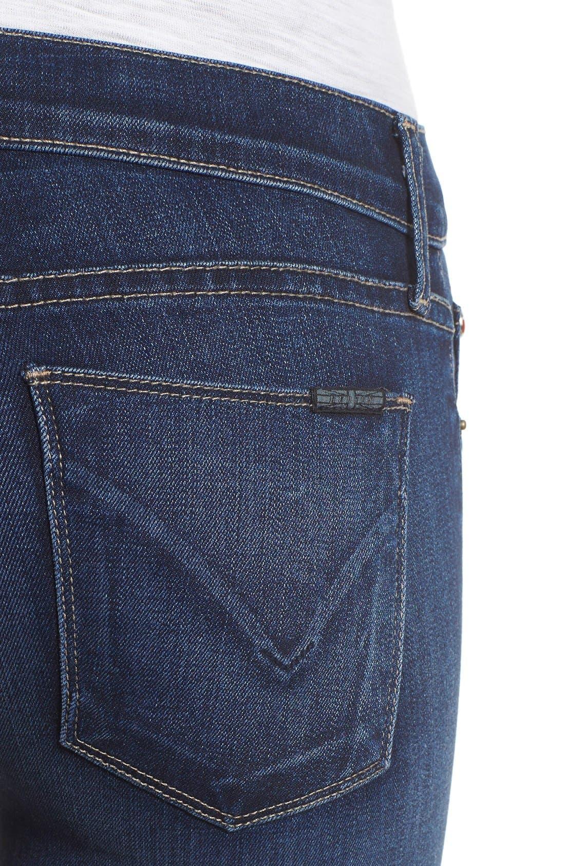 Alternate Image 4  - Hudson Jeans 'Krista' Release Hem Jeans (Crest Falls)