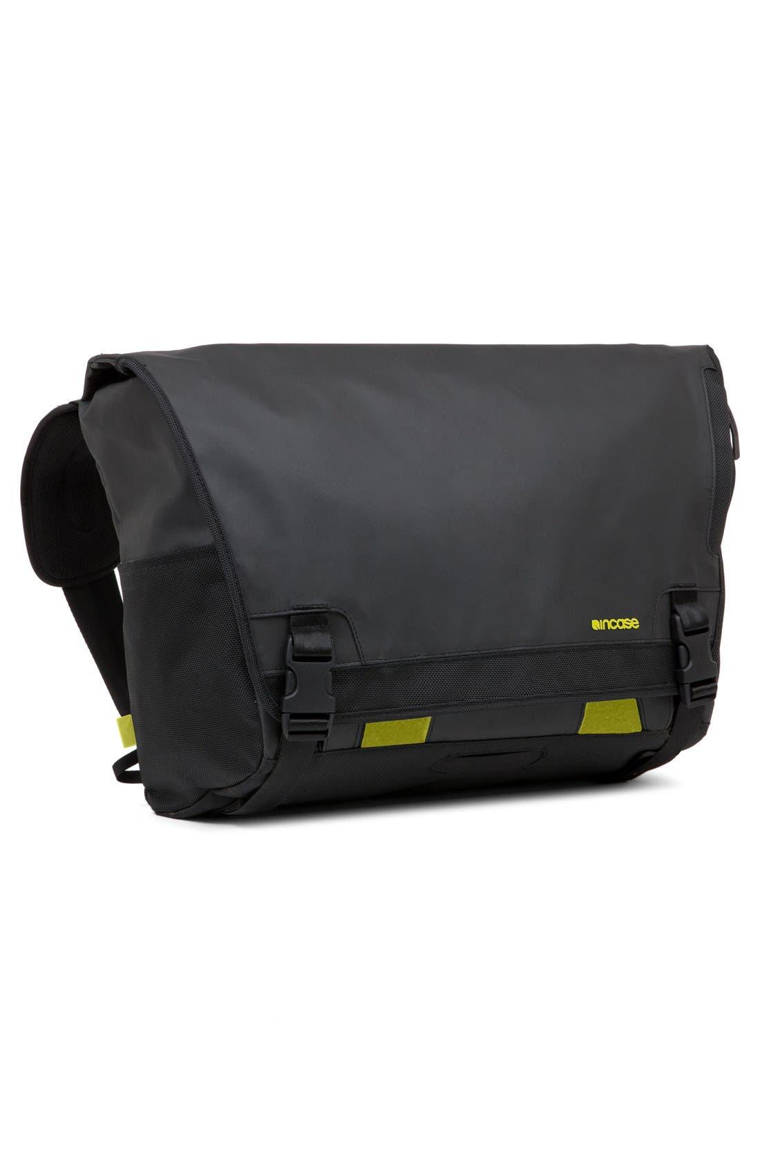 'Range' Messenger Bag,                             Alternate thumbnail 2, color,                             Black