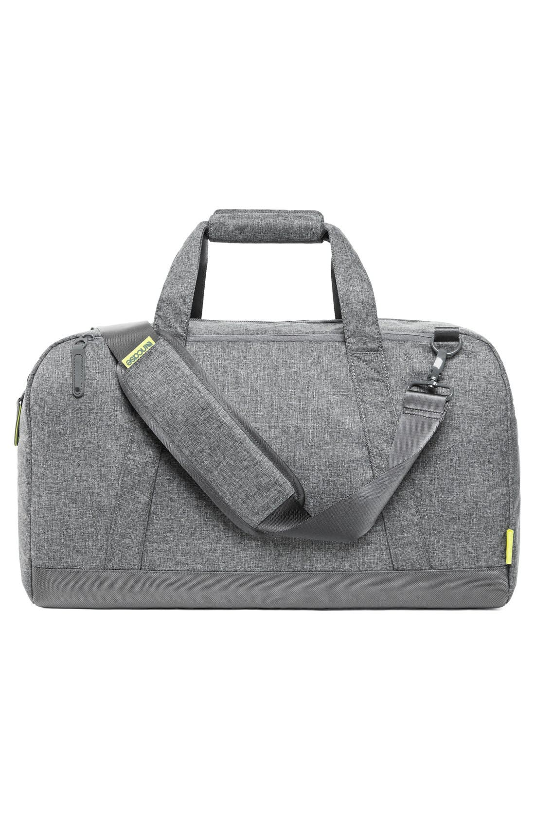 EO Duffel Bag,                             Alternate thumbnail 2, color,                             Heather Grey