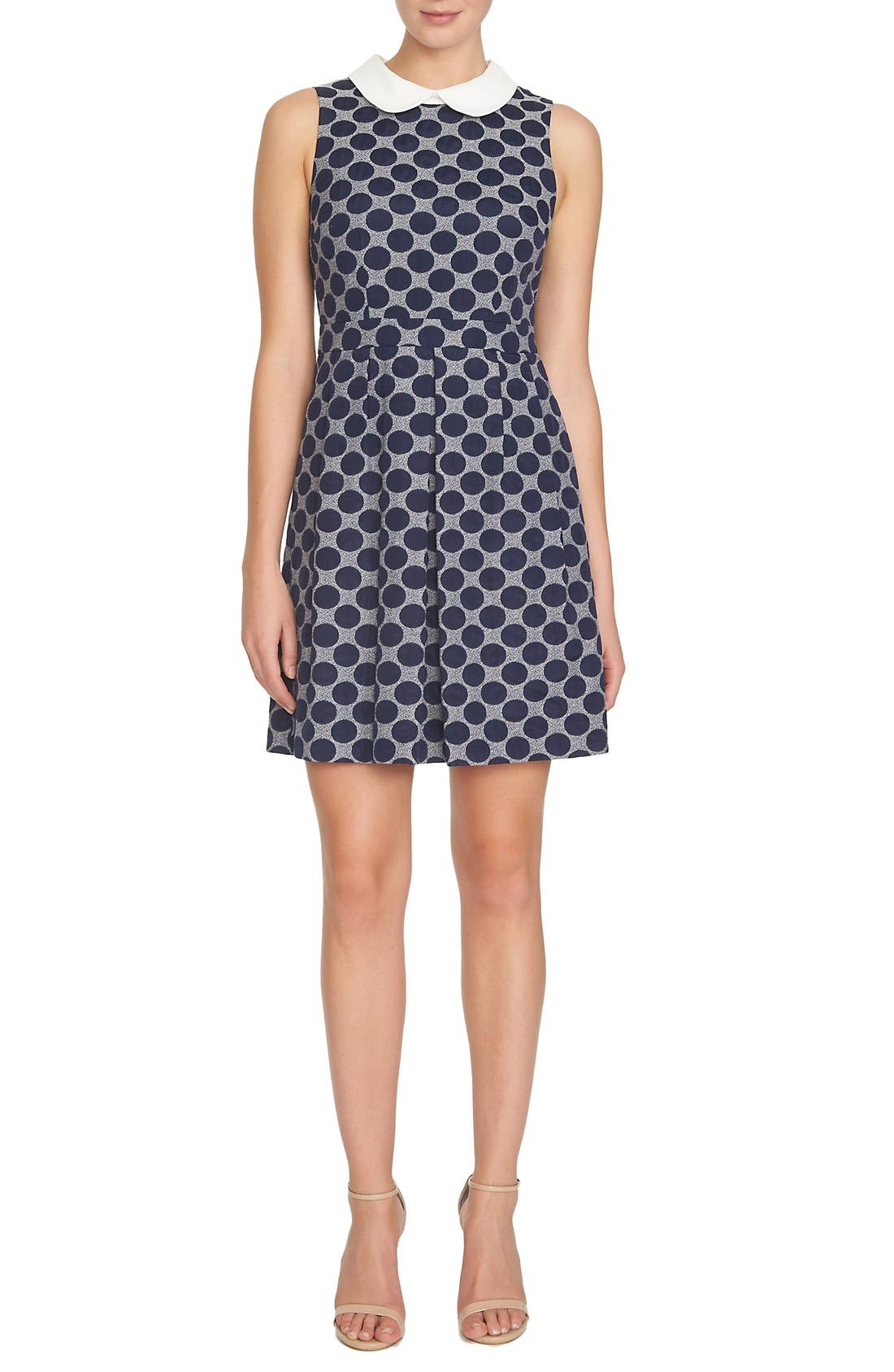 Alternate Image 1 Selected - CeCe by Cynthia Steffe 'Becca' Jacquard Shift Dress