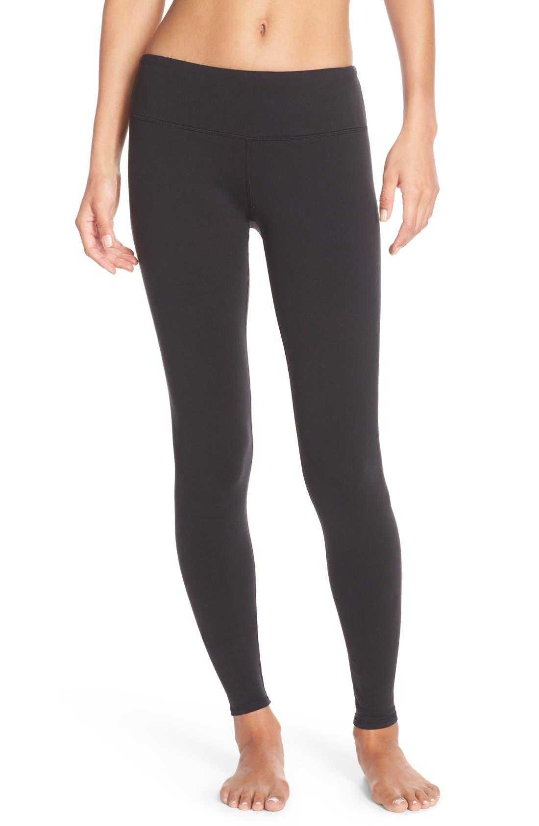 Main Image - Alo Airbrushed Glossy Leggings