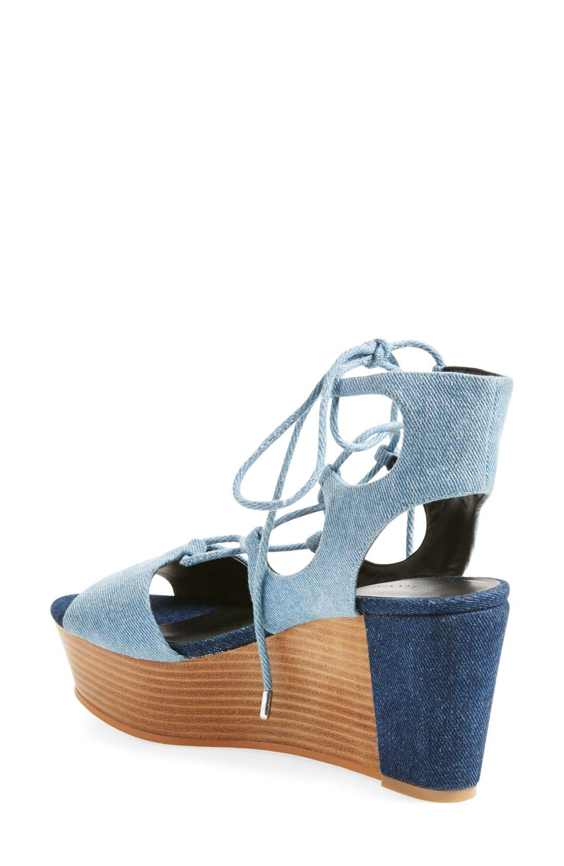 Alternate Image 2  - Rebecca Minkoff Cady Wedge Sandal (Women)