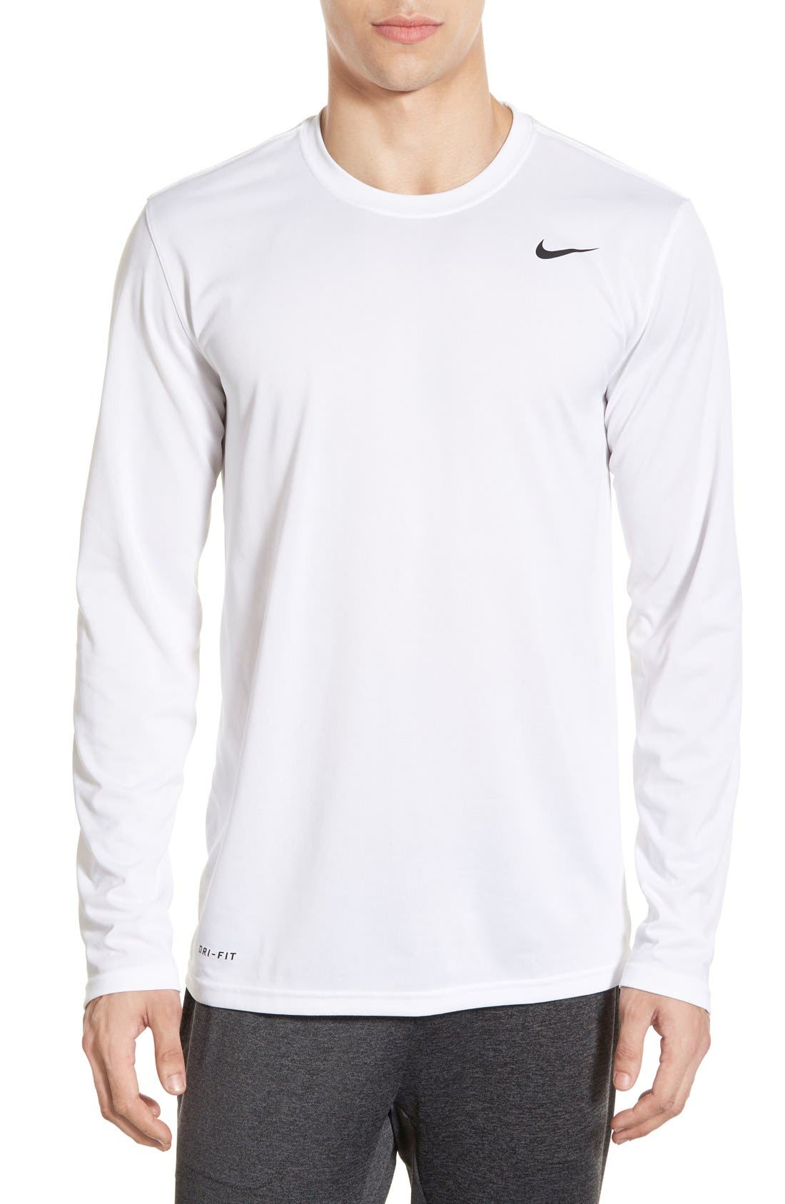 Main Image - Nike 'Legend 2.0' Long Sleeve Dri-FIT Training T-Shirt