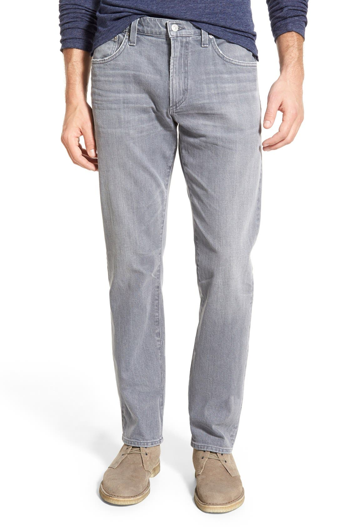 'Gage' Slim Straight Leg Jeans,                             Main thumbnail 1, color,                             Akron
